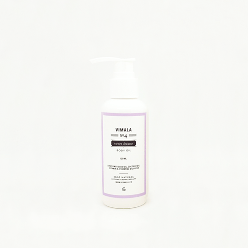 Body Oil no. 4 - Sweet Dreams