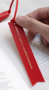 Bookmark Red