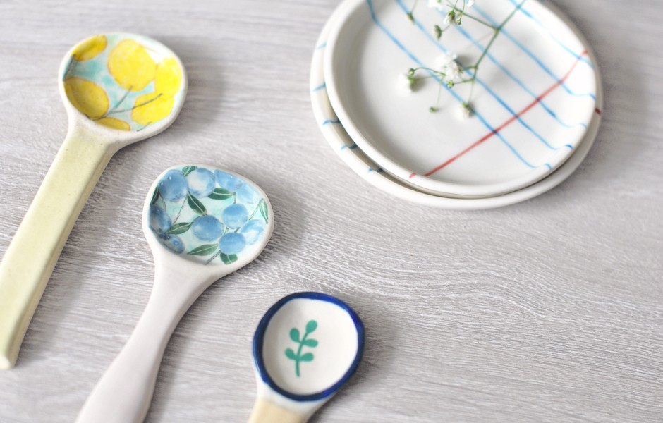 Ceramic Spoon - Berries