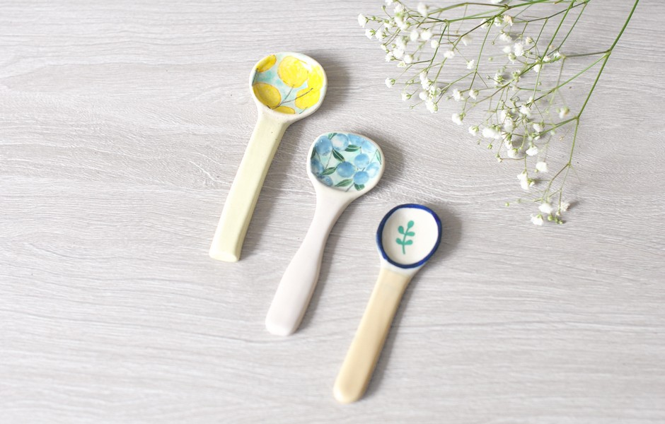 Ceramic Spoon - Pear