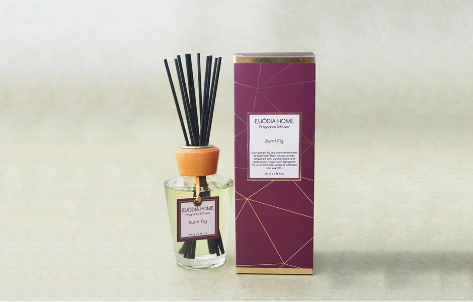 Fragrance Diffuser - Burnt Fig 150 ml