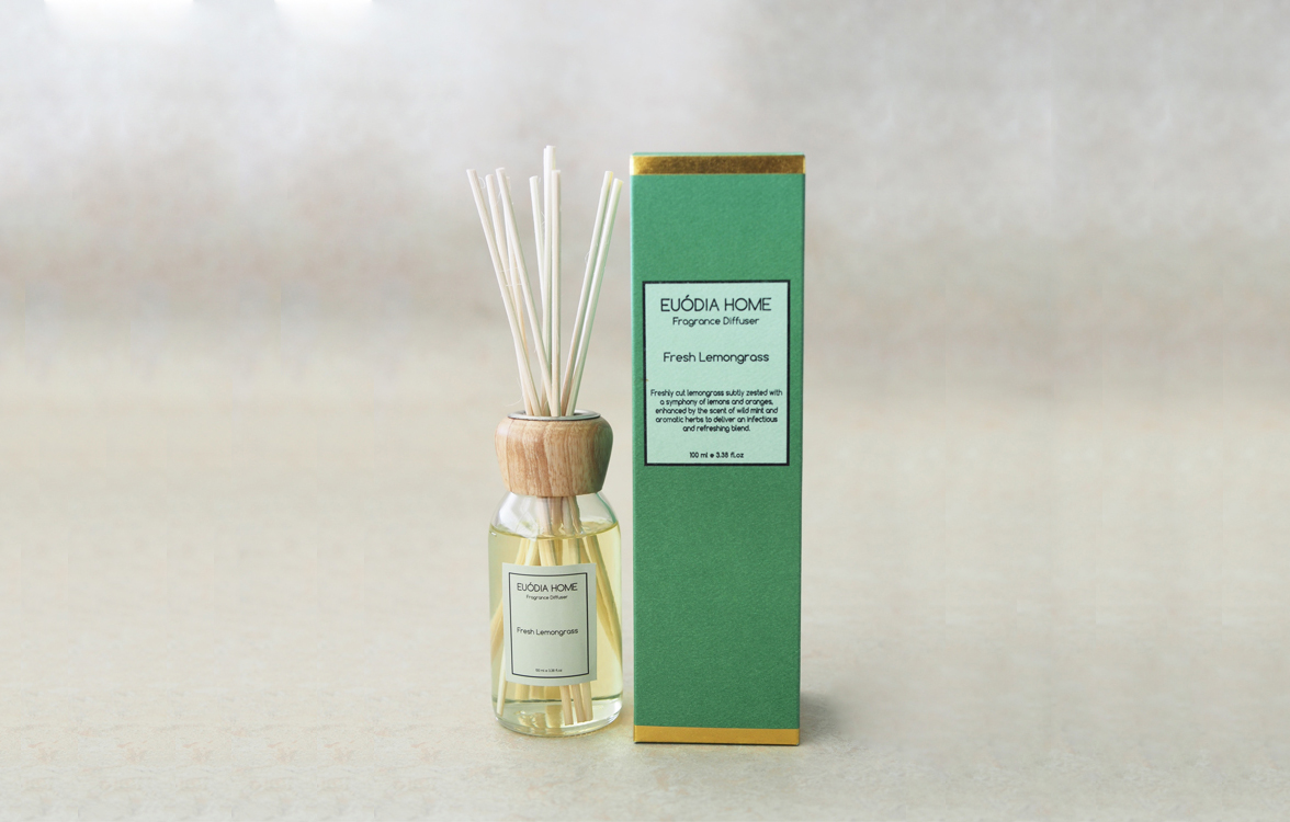 Fragrance Diffuser - Fresh Lemongrass 100 ml