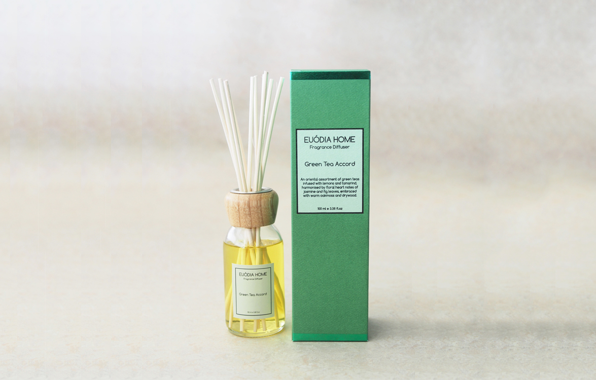 Fragrance Diffuser - Green Tea Accord 100 ml