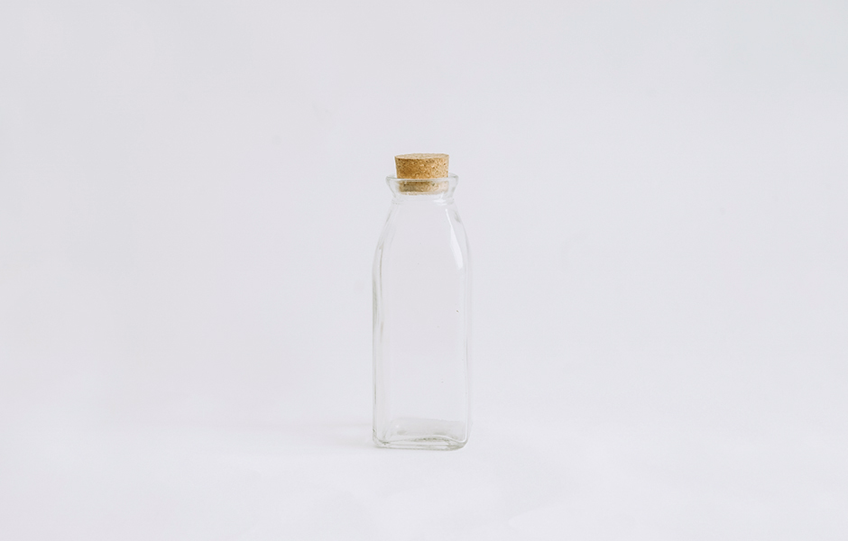 Glass Bottle - Square