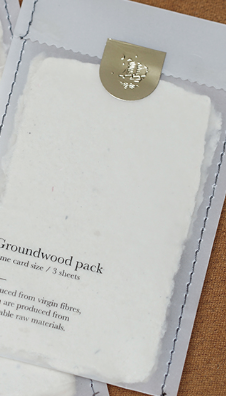 Groundwood Pack Name Card Size