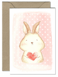 Lovely Bunny Card