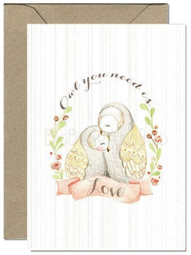 Loving Owls Card