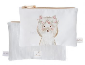 Mini Pouch- Lady Terrier