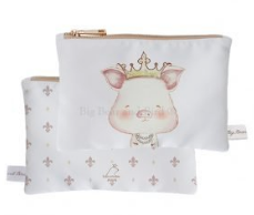 Mini Pouch- Piggy