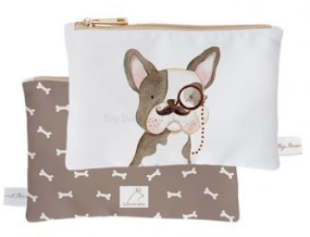 Mini Pouch- Retro Frenchy