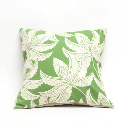 Cushion Cover - Palm Spring Pesto