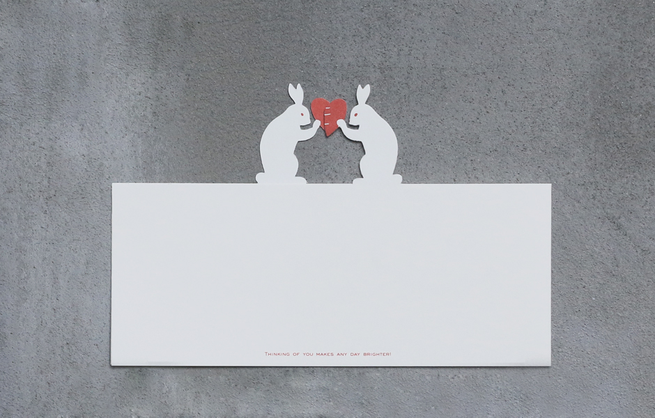 Rabbit Love Greeting Card