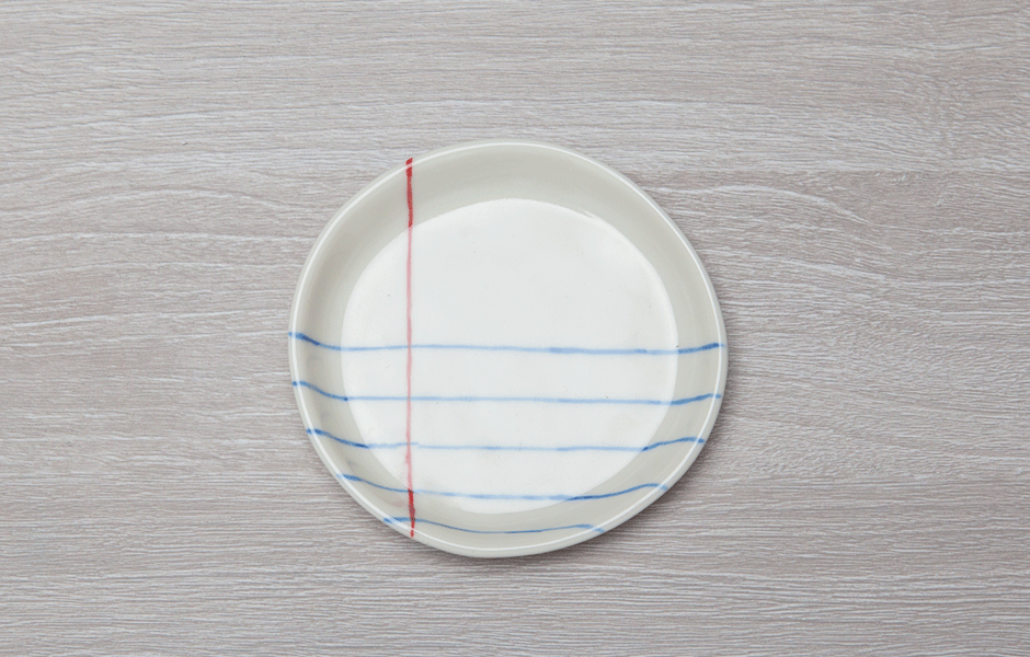 Rulled Paper Plate