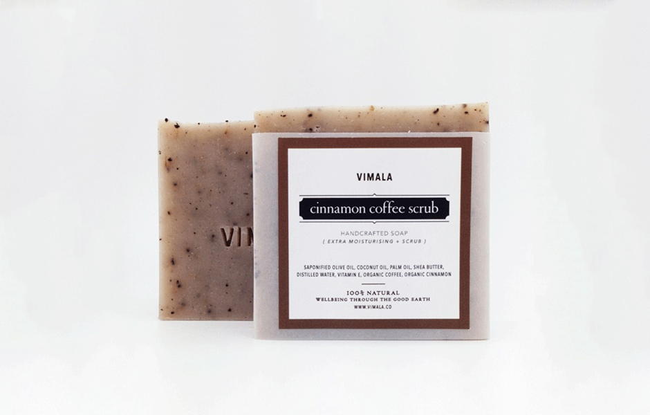 Soap Bar - Cinnamon Coffee Scrub