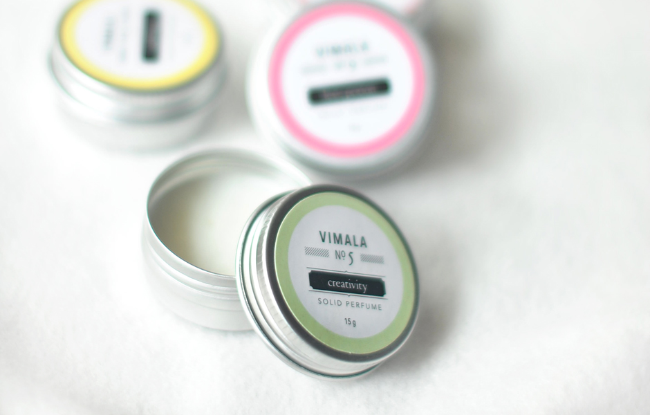 Solid Perfume - No. 5 {Creativity}