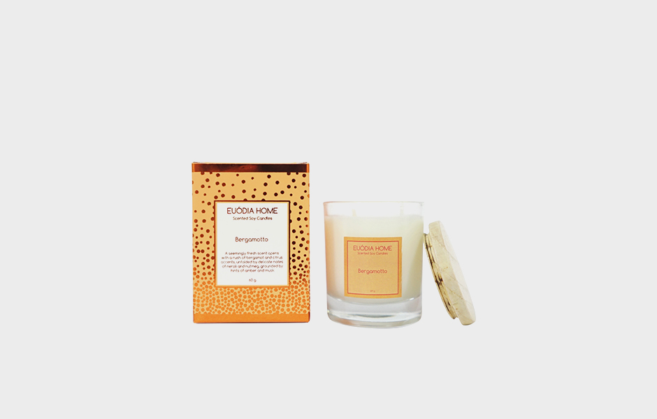 Soy Scented Candle - Bergamoto 60 gr