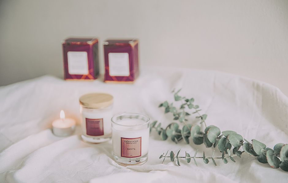 Soy Scented Candle - Burnt Fig 60 gr