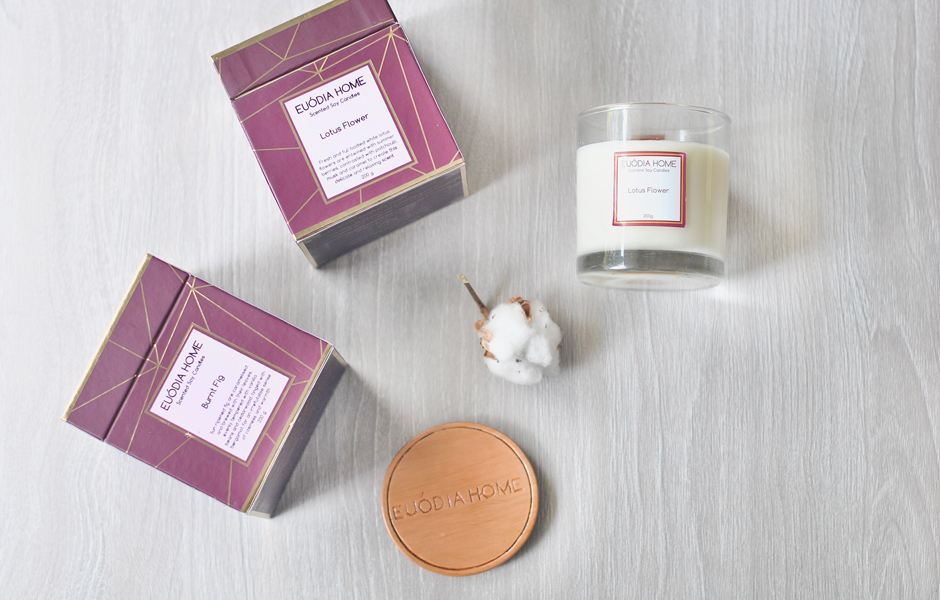 Soy Scented Candle - Burnt Fig
