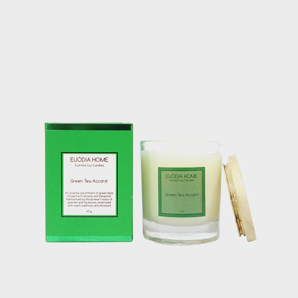 Soy Scented Candle - Green Tea Accord 60 gr