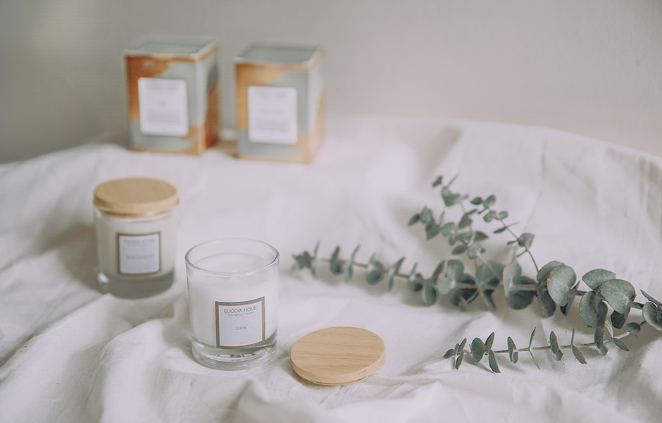Soy Scented Candle - Lilas 60 gr