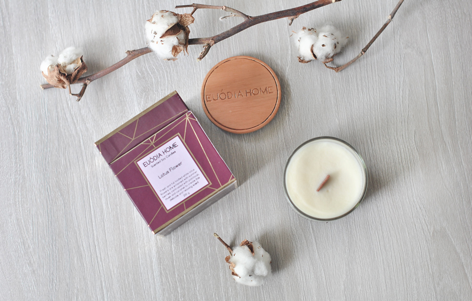 Soy Scented Candle - Lotus Flower