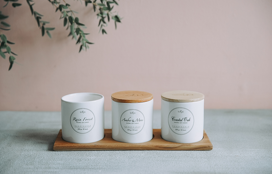 Soy Scented Candle - Rain Forest