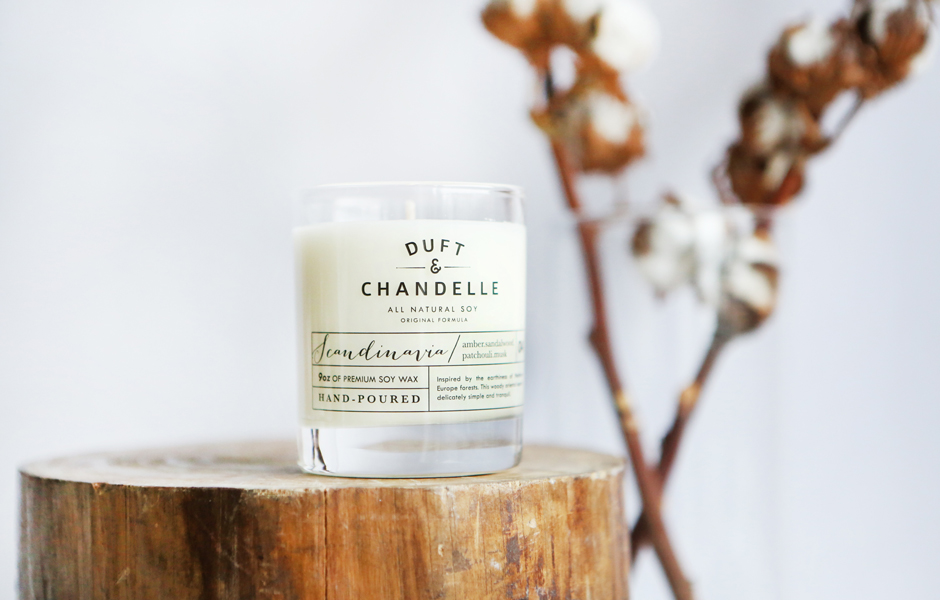 SOY SCENTED CANDLE - SCANDINAVIA