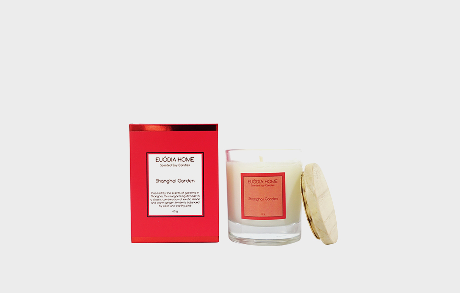 Soy Scented Candle - Shanghai Garden 60 gr