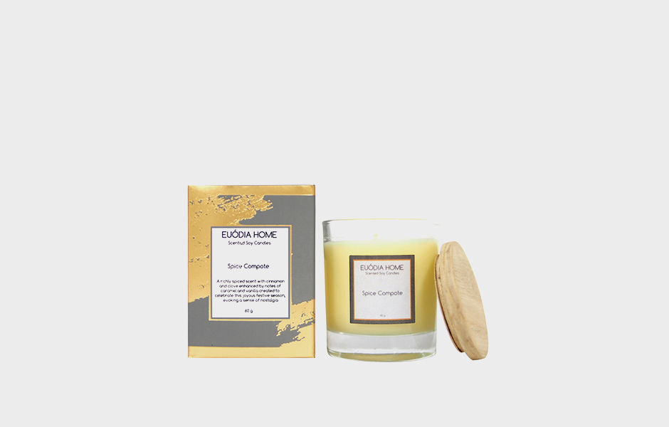 Soy Scented Candle - Spice Compote 60 gr